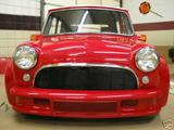 1959 Mini Cooper Red White Top Roberta Piercy