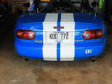 1990 Mazda MX 5 Blue White David Crocker