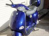2001 Vespa ET4 125 Blue John S