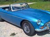1968 MG MGB MkII Riviera Silver Blue Metallic Primoz Koselj