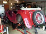 1938 MG TA Red Iain A