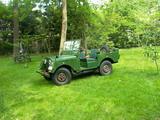 1953 Land Rover Minerva Green Eric Poelmans