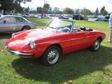 1969 Alfa Romeo Spider Rosso Gary Rand