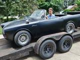 1961 Sunbeam Alpine Black Michael Frey