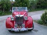 1950 MG YT Tourer