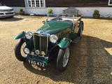 1939 MG TB Apple Green Fabio B