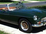 1963 MG MGB MkI British Racing Green julie snyder