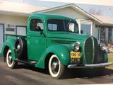 1938 Ford Model 81 Green Dennis White