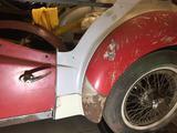 1958 Triumph TR3 Primer wray brady