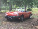1980 Triumph Spitfire 1500 CML ORANGE Jim Gow