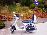 1962 Vespa GS 160 OZ Flag James N