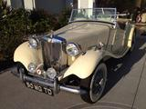 1950 MG TD Sequoia Pale Cream Michael Manion