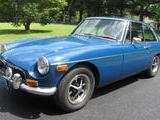 1974 MG MGB GT Tahidi Blue Dennis Simon