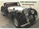 1947 Triumph 1800 Roadster BLACK SILVER James Carrington