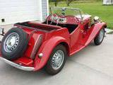 1953 MG TD Red Tildon Baker
