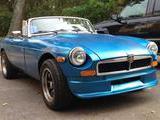 1974 MG MGB V8 Conversion Neon Blue Metallic Bill Zenkus