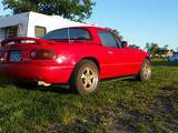 1990 Mazda MX 5 Red Adin Briggs
