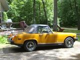 1976 MG Midget 1500 Racing Orange Jeanne Godar