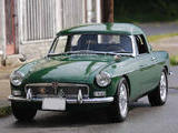 1965 MG MGB Green Mike Gassman