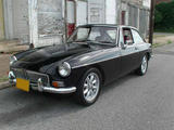 1967 MG MGB GT Black Mike Gassman