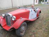 1951 MG TD Trd S bastien Canevet