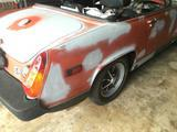 1976 MG Midget 1500 Faded Orange Primer Tony Gallegos