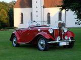 1952 MG TD Rot Markus Zehrer