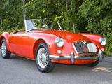 1959 MG MGA 1500 Orient Red Clarke Taylor