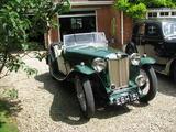 1937 MG TA Green Tony Bremner Milne