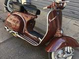 1974 Vespa 125 GTR Chocolate Brown Bruno Kea