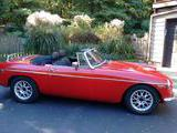 1966 MG MGB V8 Conversion Red Joseph B