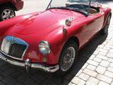 1959 MG MGA Ferrari Red Jim Manierre