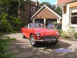1969 MG MGB Red John C