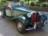 1952 MG TD Green Steve A Katz
