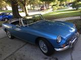 1964 MG MGB MkI Lt Blue Mike Ruckman