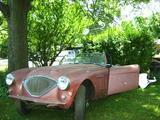 1955 Austin Healey 100 Primer Red sal sax