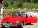 1971 MG MGB Red Martti Niemenpalo