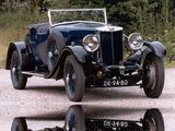 1930 MG 18 80 Black Blue Ruud Vinke