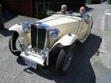 1948 MG TC Sequoia Cream Green Interior Jack Emdall