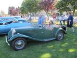 1950 MG TD Almond Green Biscuit Interior Jack Emdall