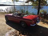 1980 MG MGB MkIV Red David Parker