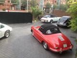 1960 Porsche 356 Cabriolet Mars Red Michael Hendrick