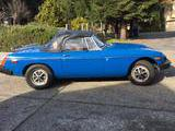 1976 MG MGB Blue HERBERT LIBERMAN