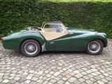 1959 Triumph TR3A British Racing Green Michel Rubino