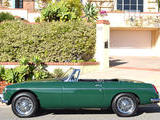 1964 MG MGB British Racing Green light Mike Sumner