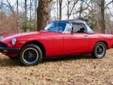 1977 MG MGB MkIV Red James Wiebe