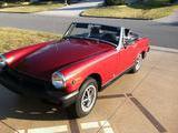 1976 MG C Type Midget Red Tim Hoover
