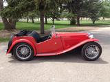 1948 MG TC Red Arnie Sybrant