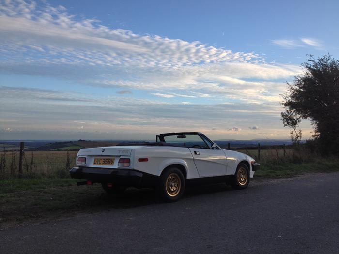 Land Rover Hunt Valley >> 1979 Triumph TR8 (TPZDV8AT203160) : Registry : The Landy ...