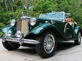 1952 MG TD British Racing Green Greg Jones